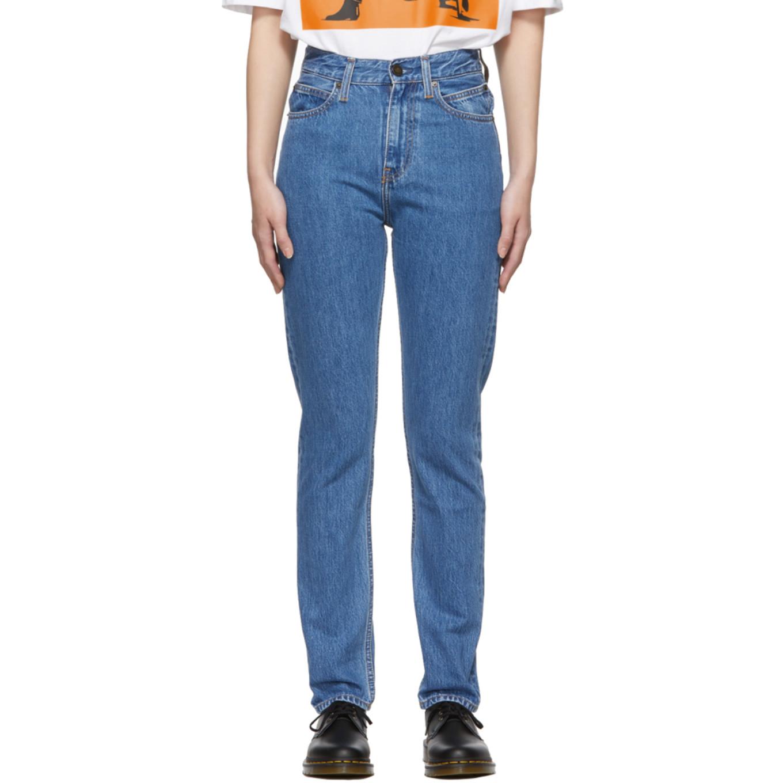 Blue Narrow Jeans by Calvin Klein Jeans Est. 1978