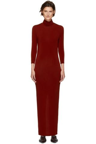 Kwaidan Editions - Red Underpinnings Turtleneck Dress