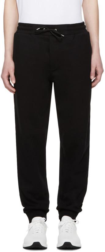 McQ Alexander McQueen Black Logo Lounge Pants