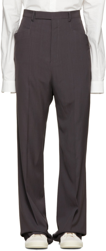 Rick Owens Grey Mastodon Trousers