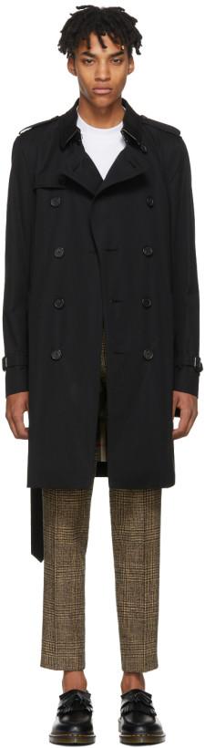 Burberry Black Sandringham Trench Coat