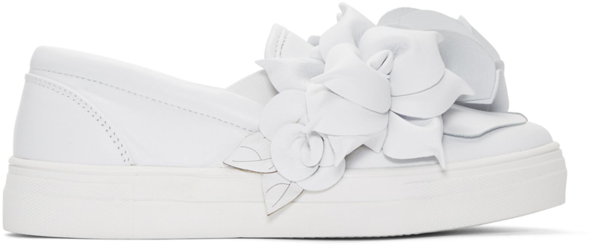 Sophia Webster White Jumbo Lilico Adele Sneakers