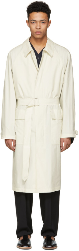 Lemaire Ivory Great Raincoat