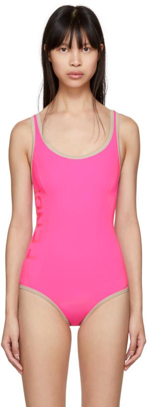 Fendi Pink One-Piece Swimsuit