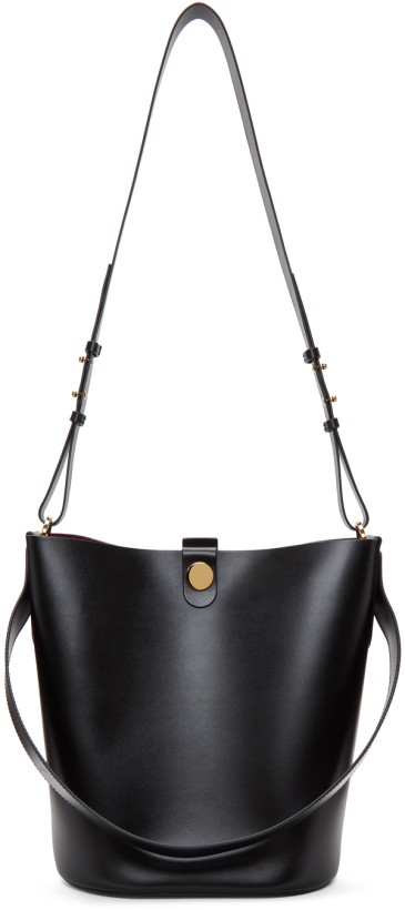 Sophie Hulme Black Large The Swing Bag