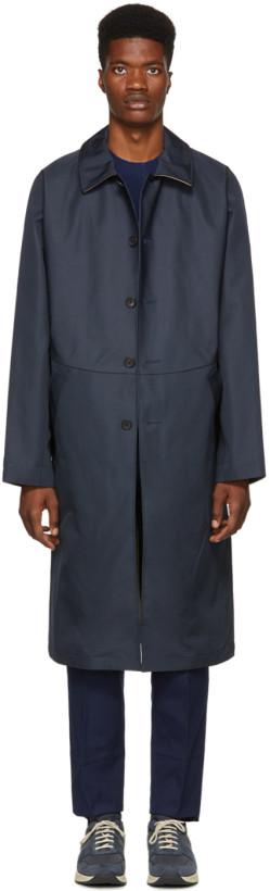 Childs Navy Bonded Clerk Coat