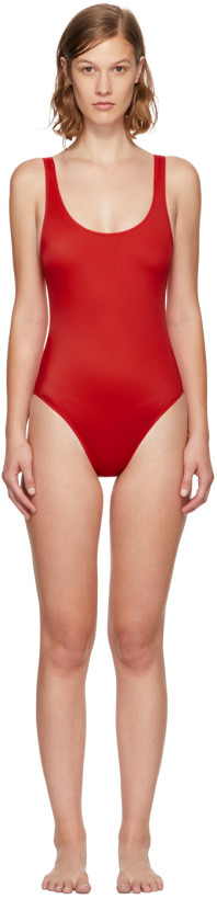 Solid & Striped Red The Anne-Marie Swimsuit