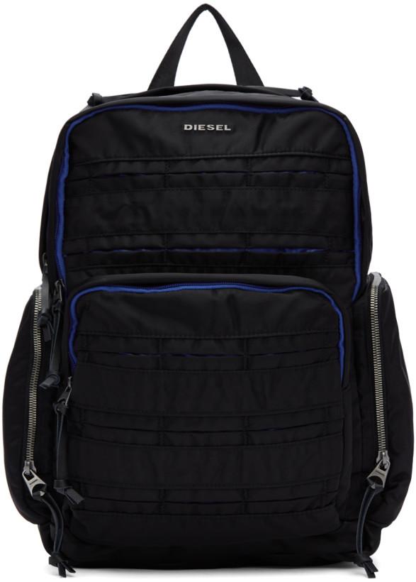 Diesel Black M-24/7 Backpack