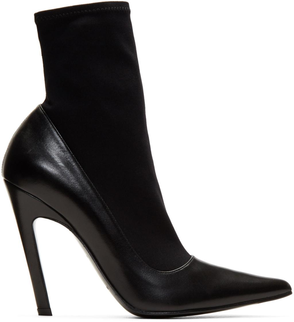Balenciaga Mirror Metallic Leather Ankle Boots Gr. IT 39.5 xFDPFH3qyV