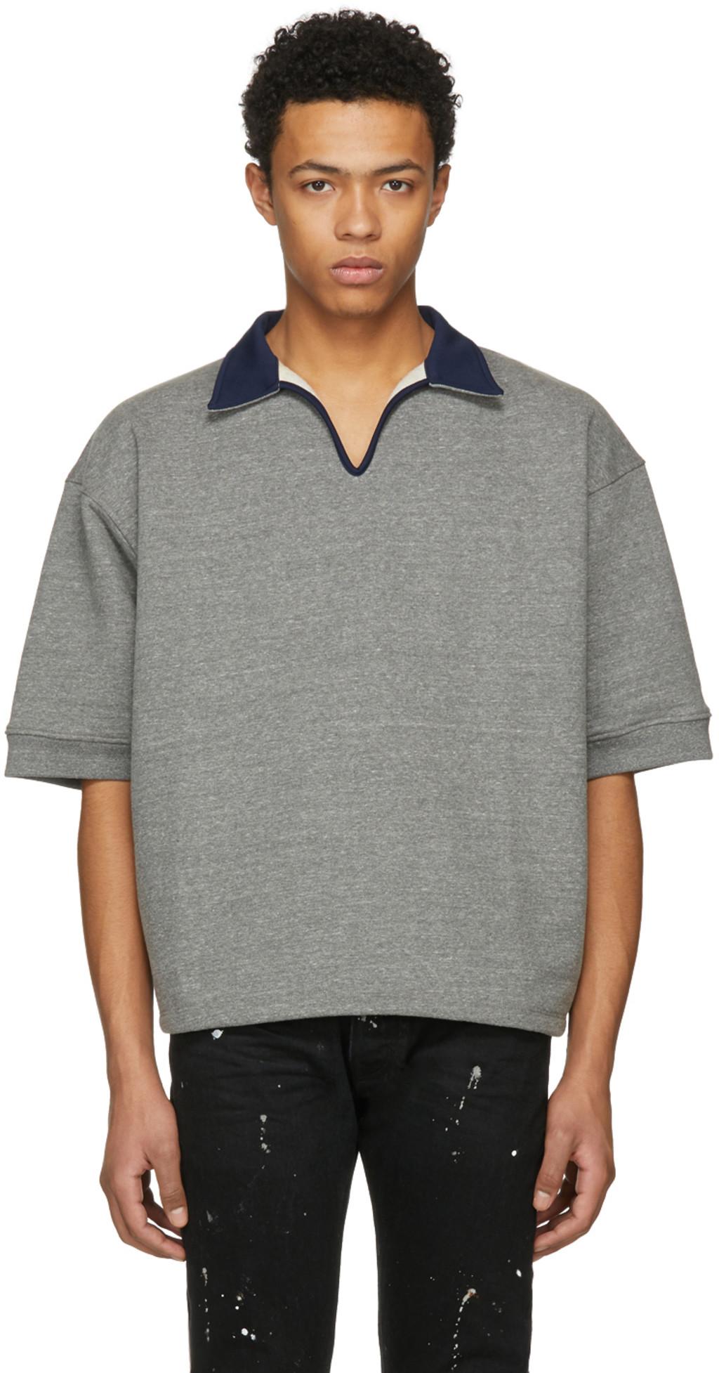 Online Store Cheap Price Store Mens Denim Oversized Shirt Fear of God 9YXNIMlrd