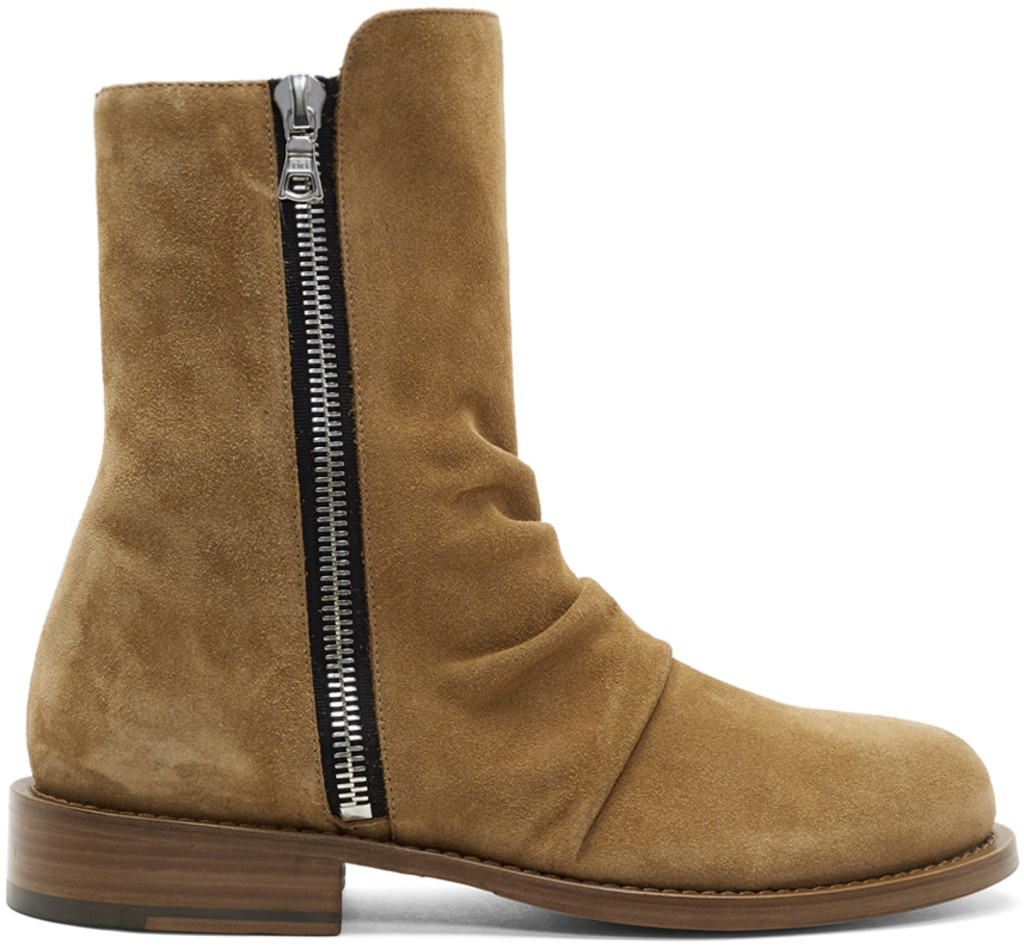 Givenchy Brown Zermatt Zip Boots cheap sale top quality outlet factory outlet cheap sale 2014 new get to buy sale online best seller y0wcab
