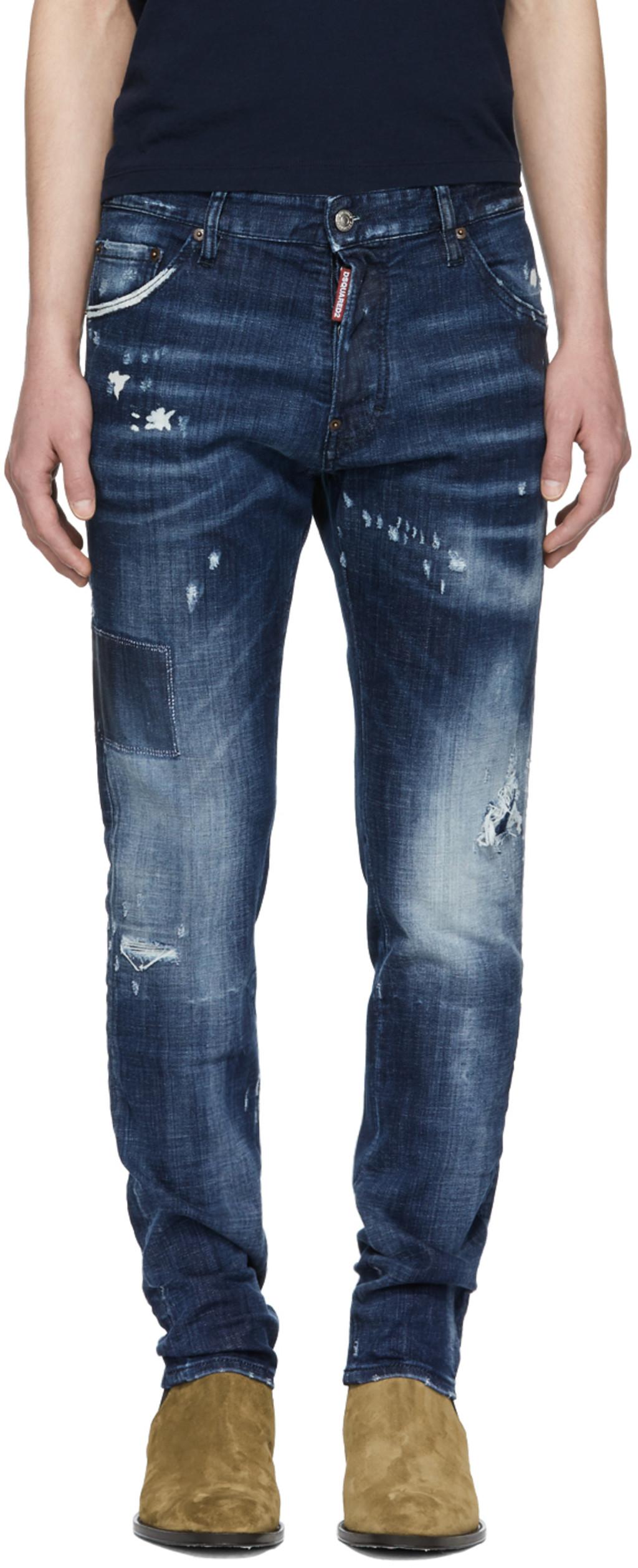 Maigres Dan Jeans - Bleu Dsquared2 0UIwDQ4OGP