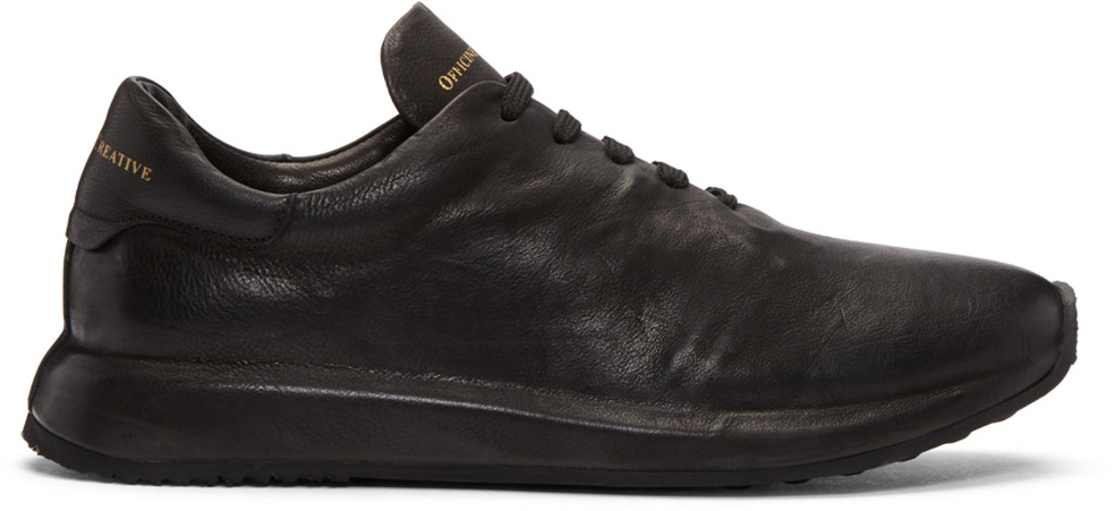 Officine Creative Black Race 1 Sneakers oOwO2B