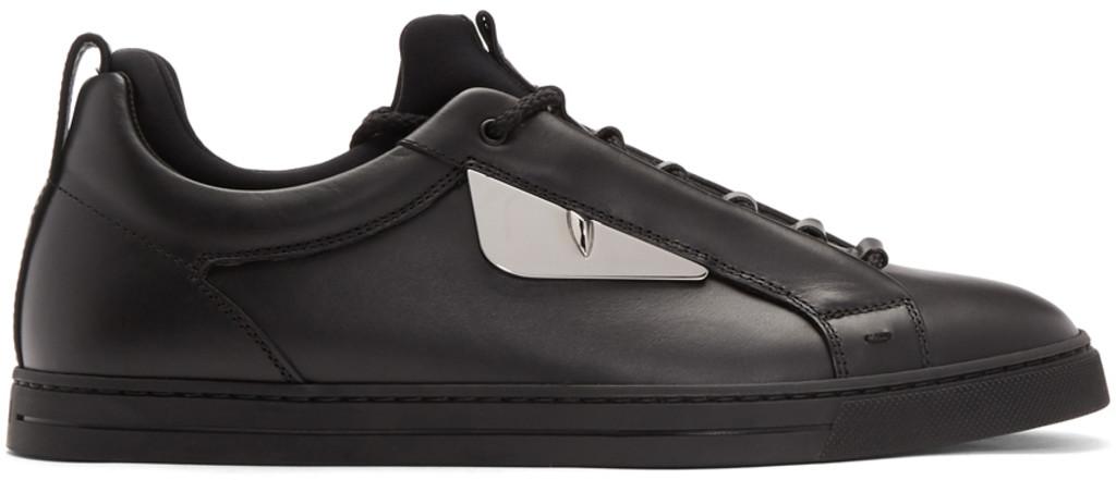 Fendi Black Butterfleyes Sneakers kSgY2BtB