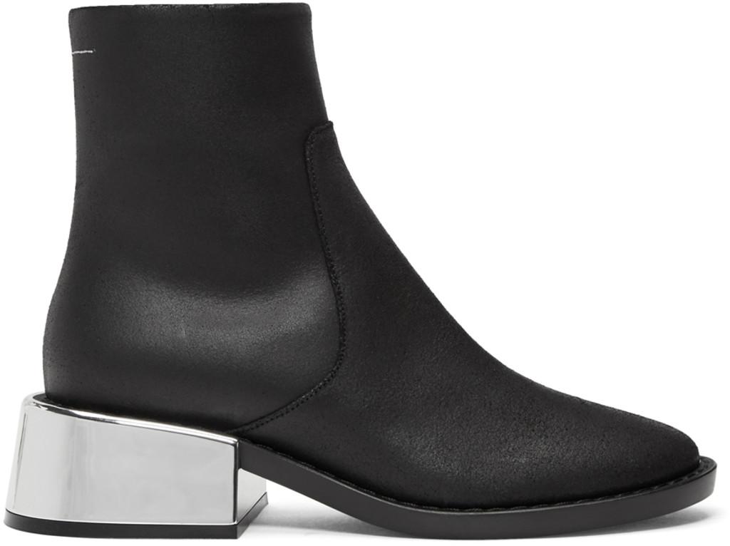 Proenza Schouler Black Bathilde Boots