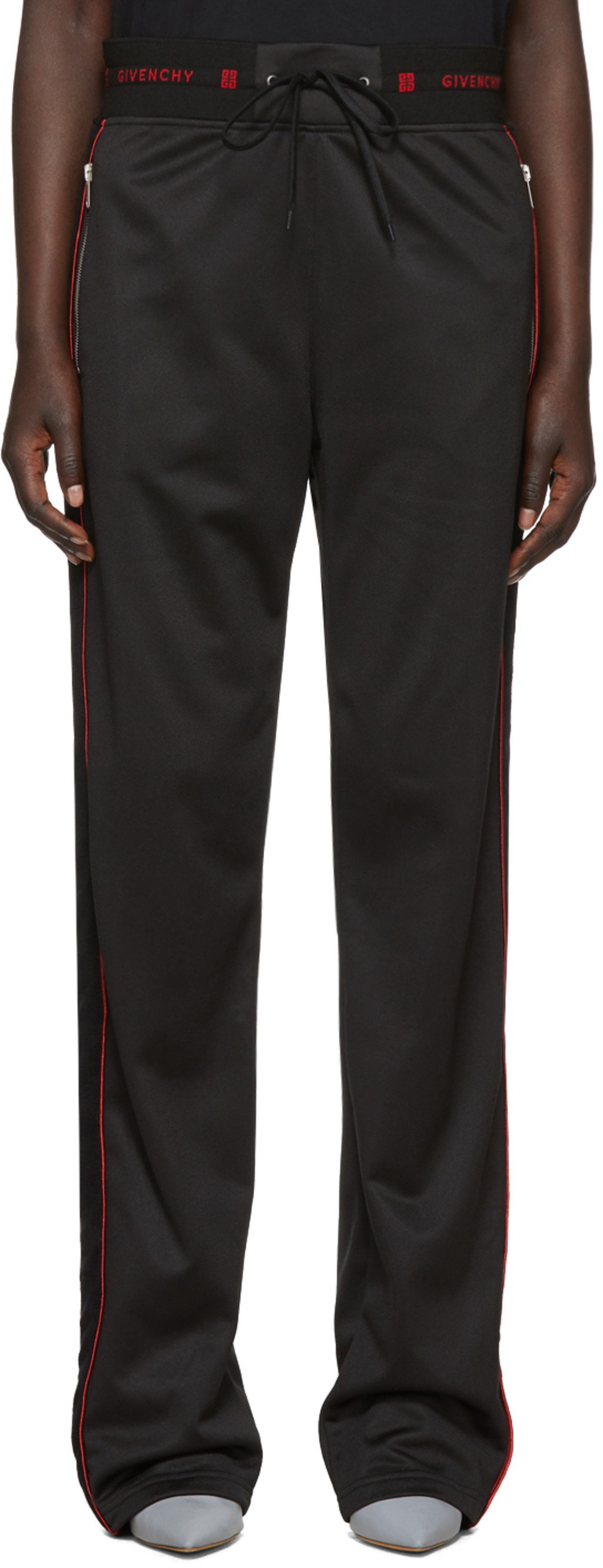 Black Velvet Band Lounge Pants Givenchy Outlet Store Online 0TNAErVF