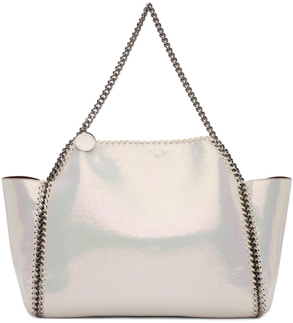 Silver Shoulder Bag