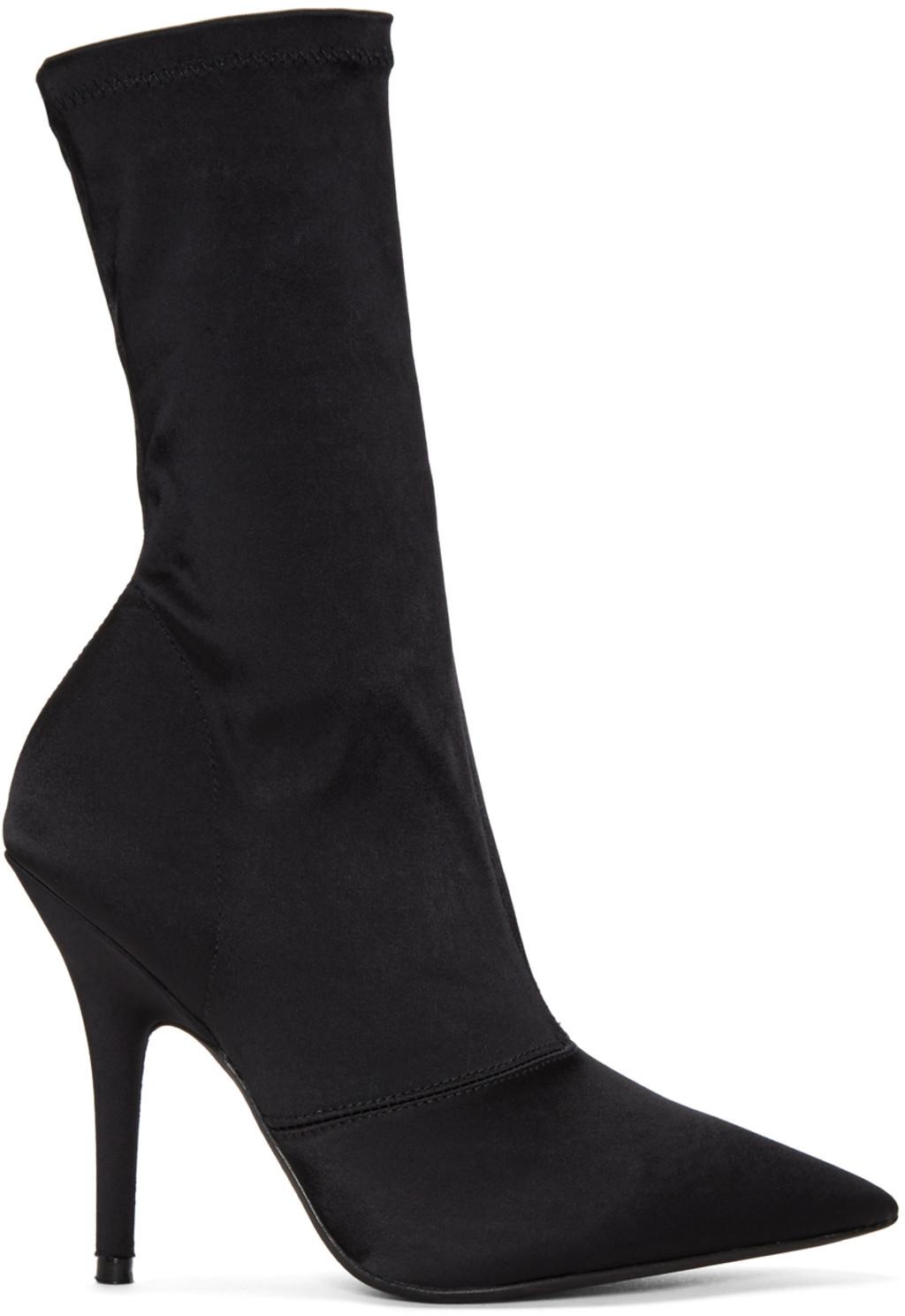 Off-White Black Broken Heel Boots
