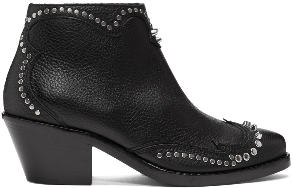 Womens Shoes On Sale in Outlet, Black, Suede leather, 2017, 3.5 Dolce & Gabbana