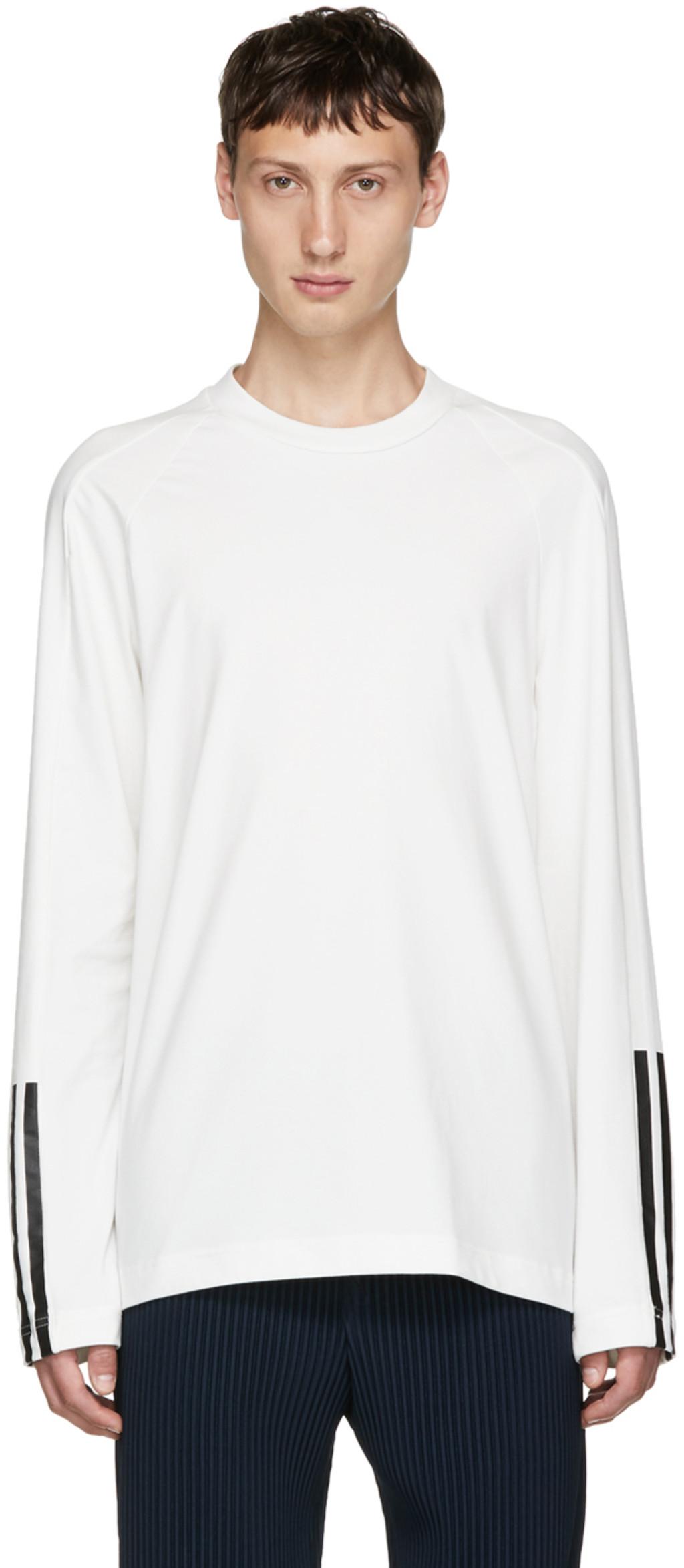 Indigo James Harden Satin T-Shirt Yohji Yamamoto