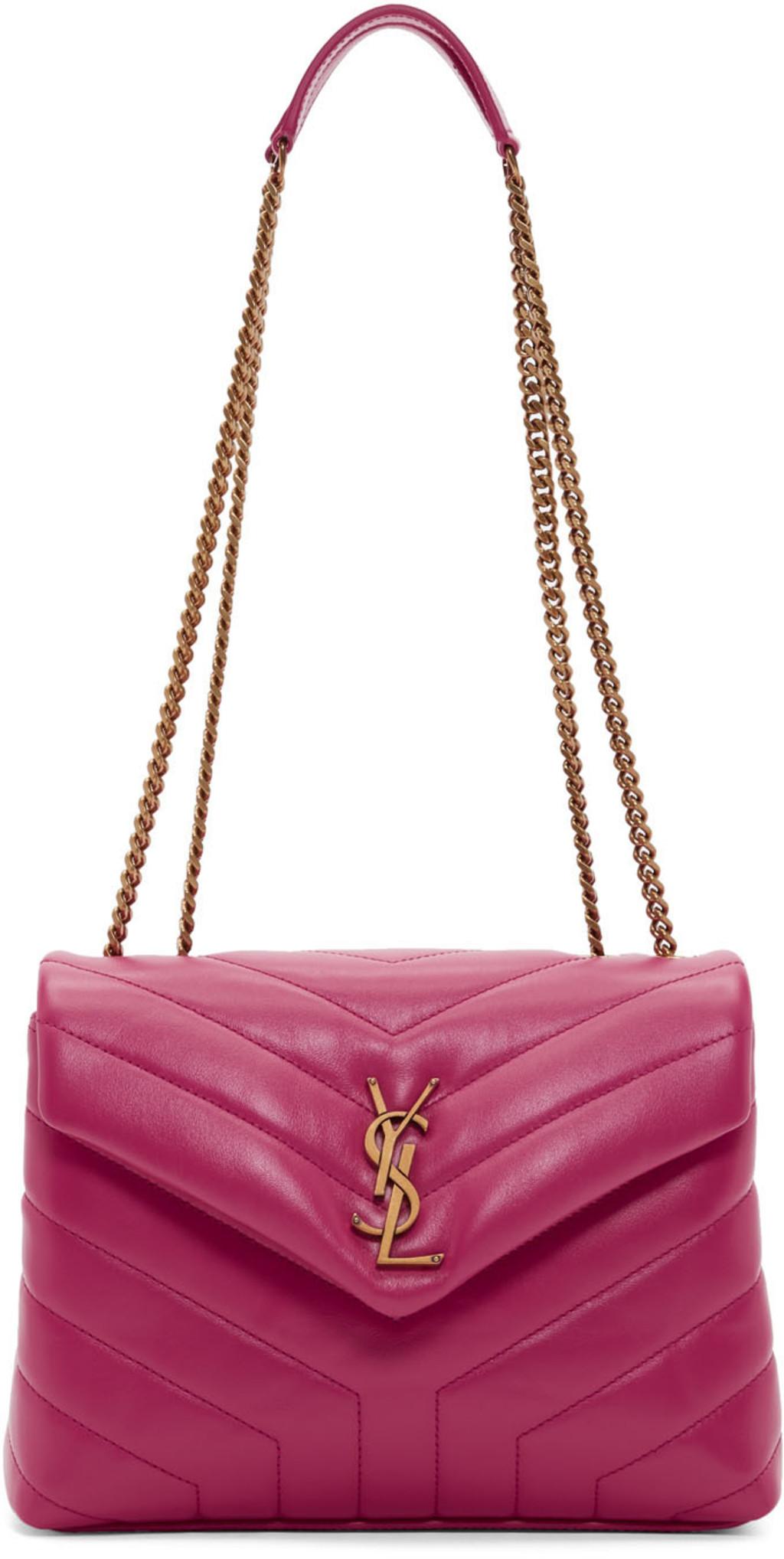 6da1c500eff0 SAINT LAURENT classy Cassandre large quilted textured-leather shoulder bag
