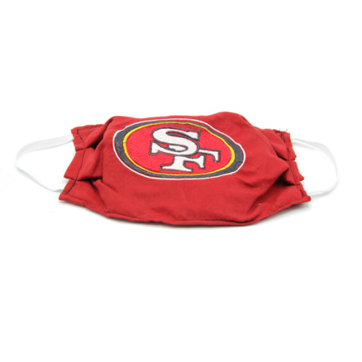 Cloth Mask - 49ers - Red