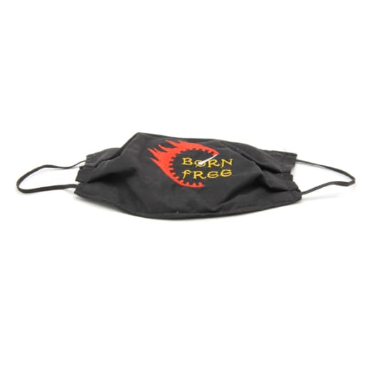 Cloth Mask - Born Free - Black