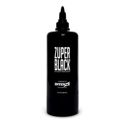 Intenze Zuper Black Ink