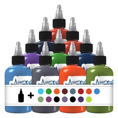 25 Essential Set 2 Tattoo Ink