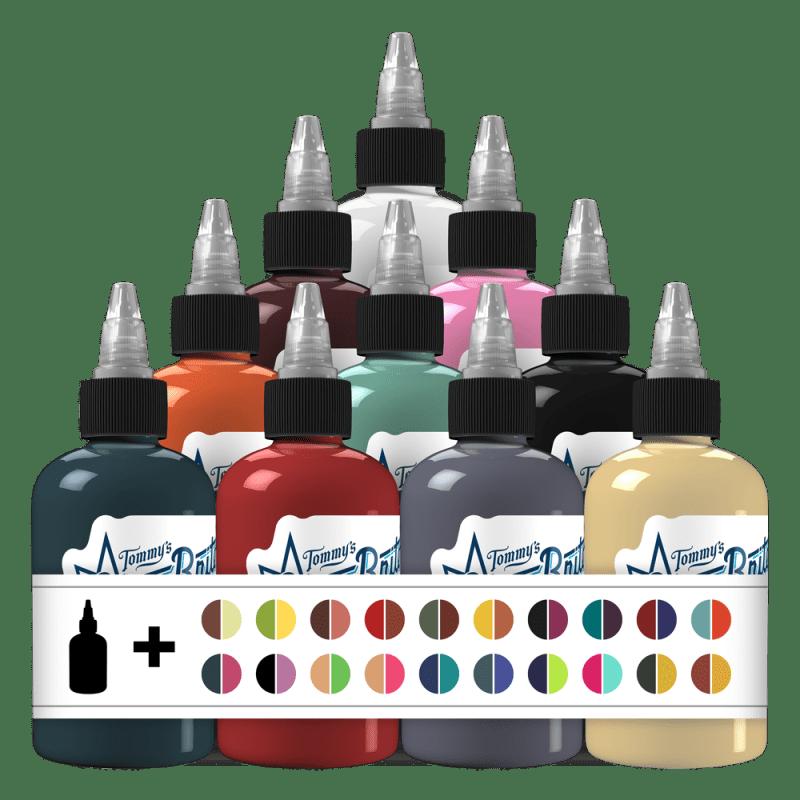 50 Fabulous Colors Set 1 Tattoo Ink