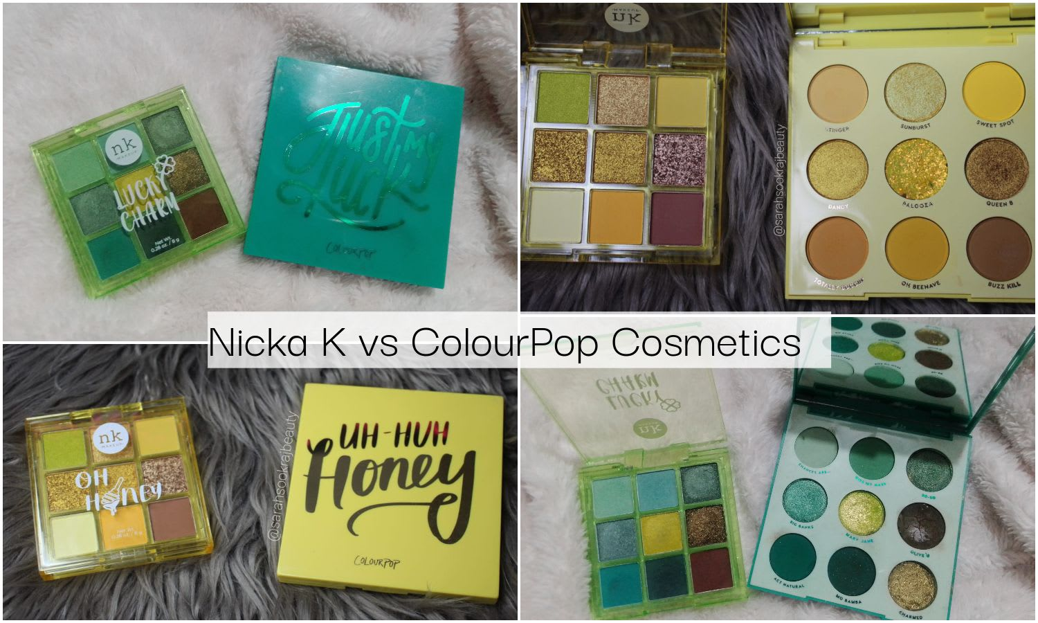 Beauty on a Budget | Nicka K NY Vs ColourPop Cosmetics Review