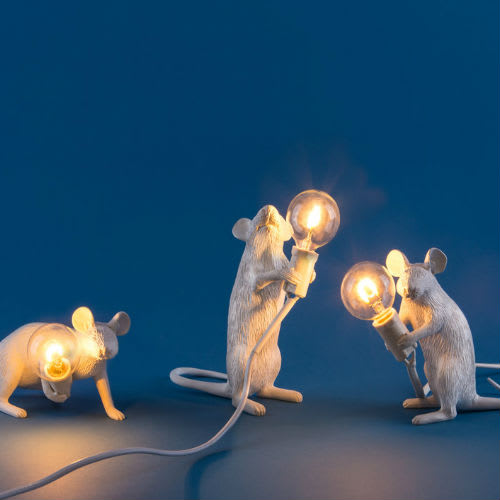 Seletti Sitting Mouse Lamp