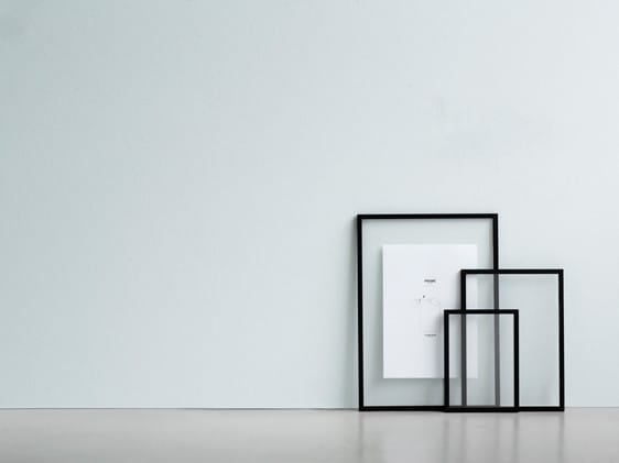 Moebe Black Aluminium Transparent Frame - A3
