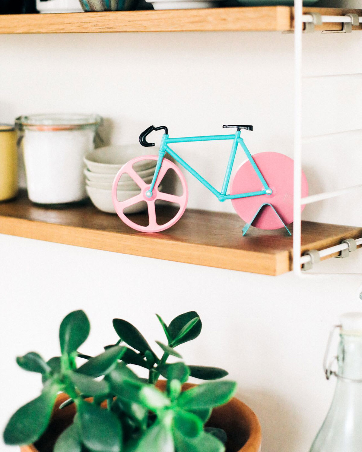DOIY Design Watermelon Bicycle Pizza Cutter