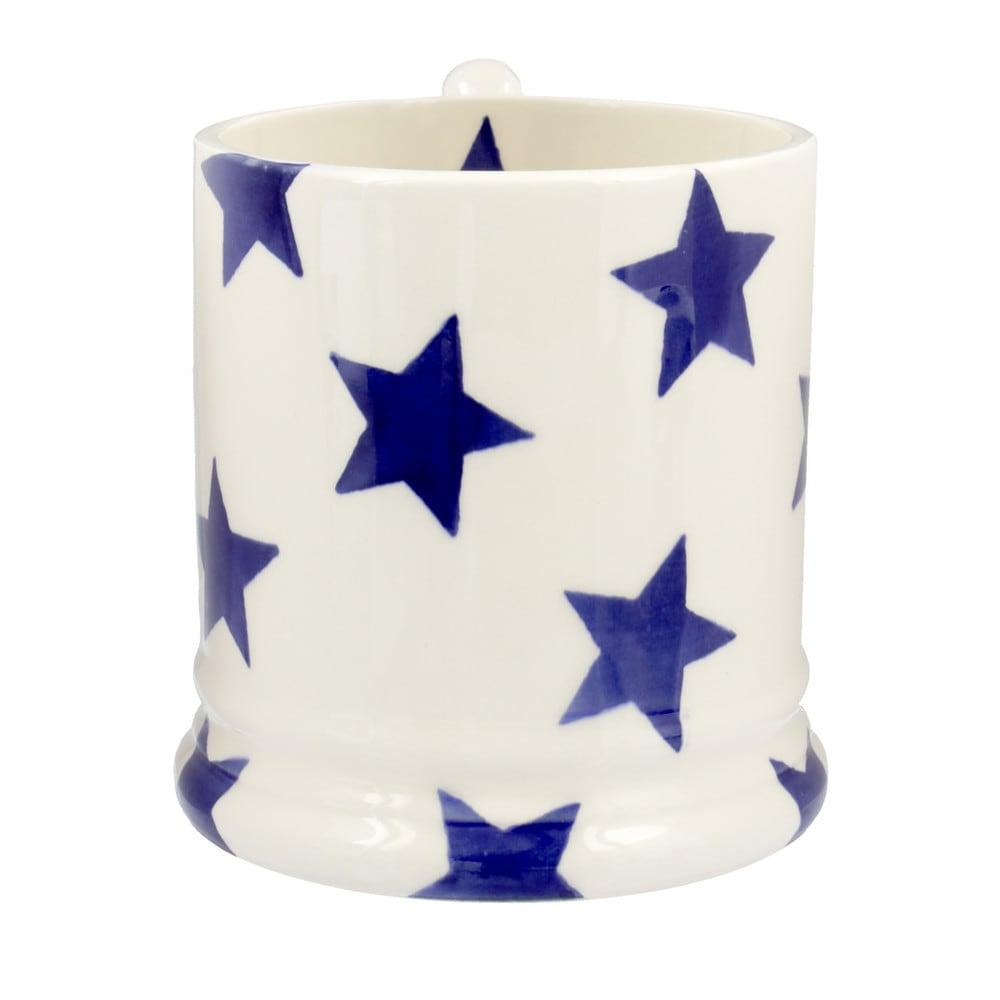 Emma Bridgewater Blue Star 0.5 Pint Mug