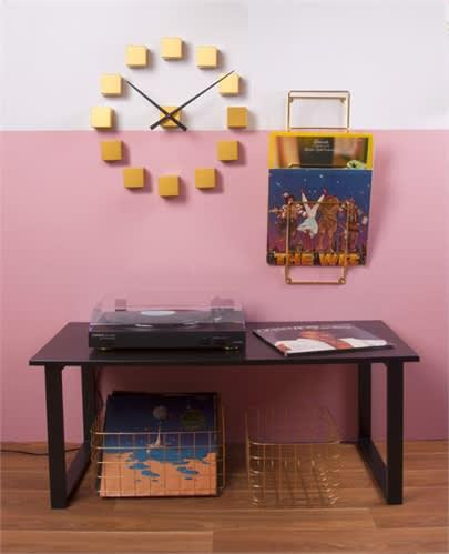 Present Time Magazine Wall Rack