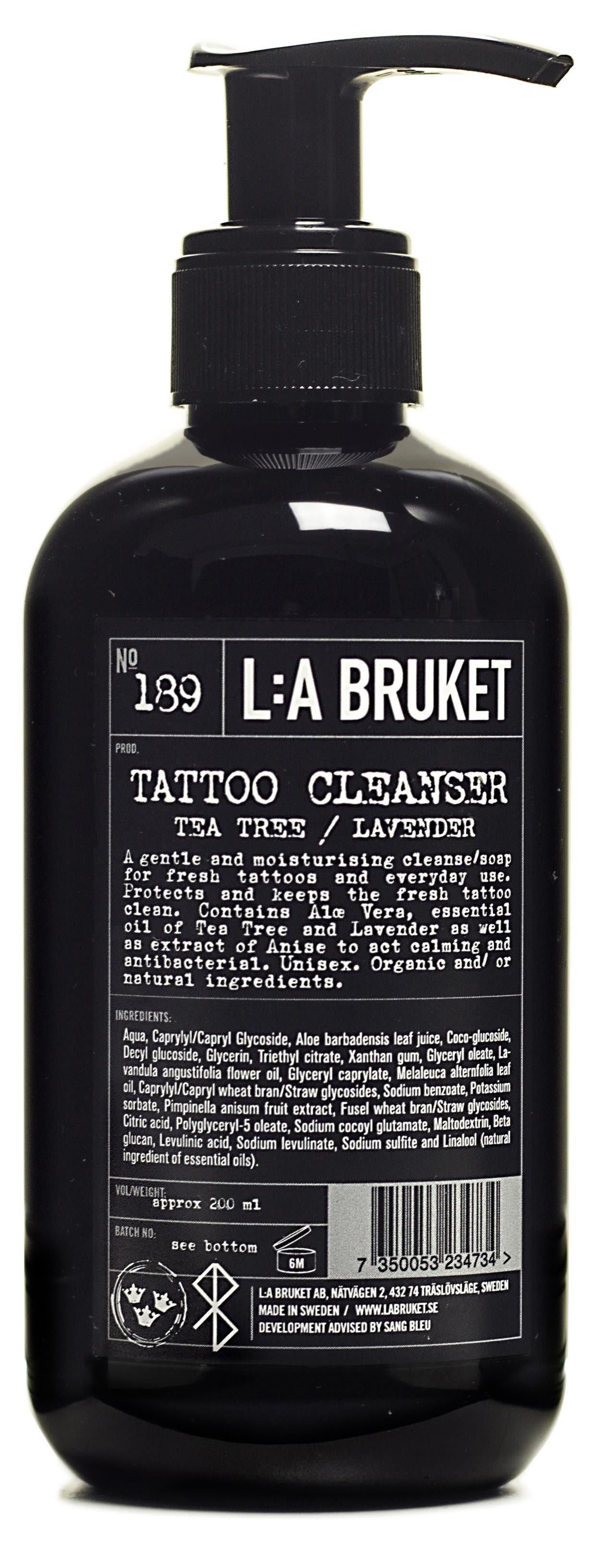 L:A Bruket 200 Ml Tattoo Cleanser