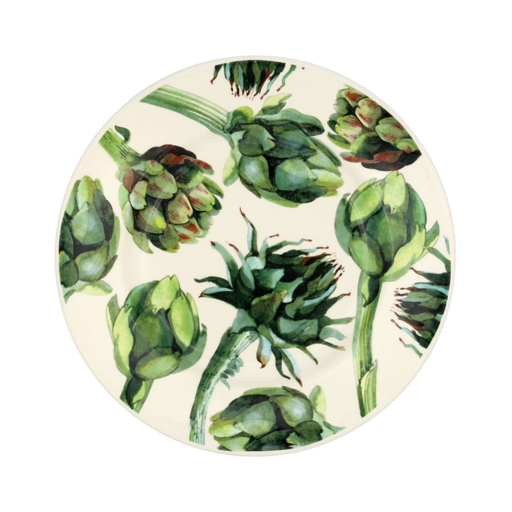 Emma Bridgewater Vegetable Garden Artichoke 8 1/2 Plate