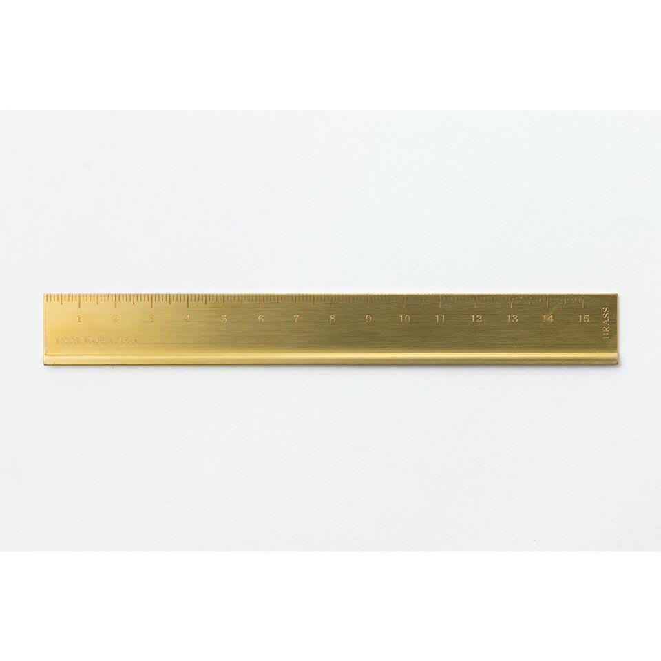 Traveler's Company TRC Brass Ruler 15cm