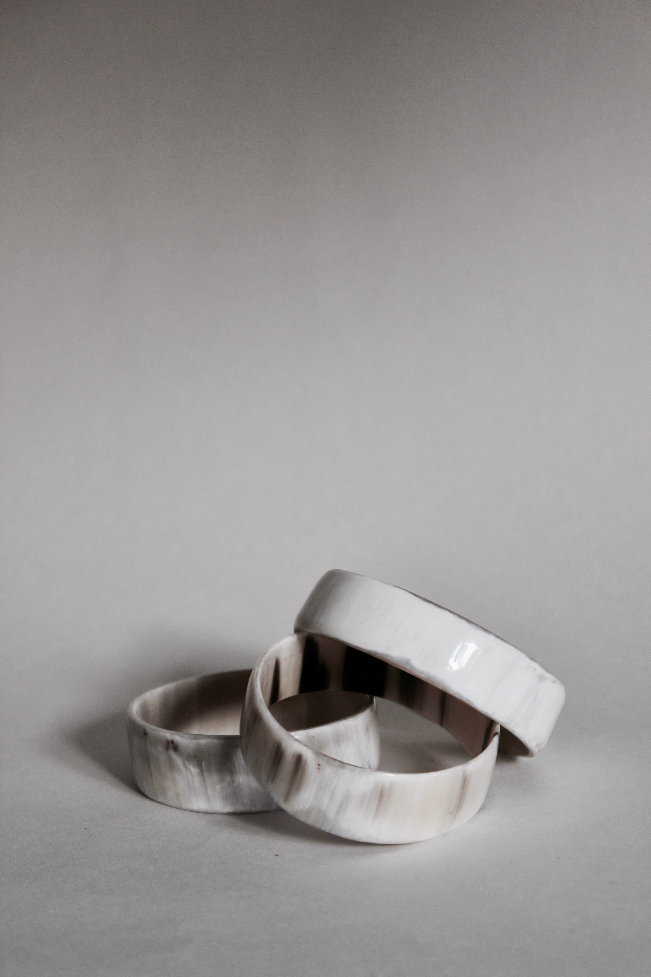 Igigi  White Horn Bracelet