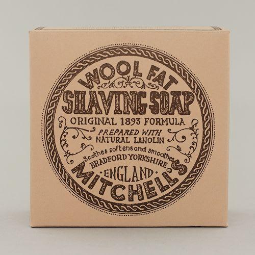 Mitchell's Wool Fat Shaving Soap Refill