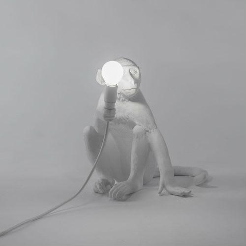 Seletti Sitting Monkey Lamp
