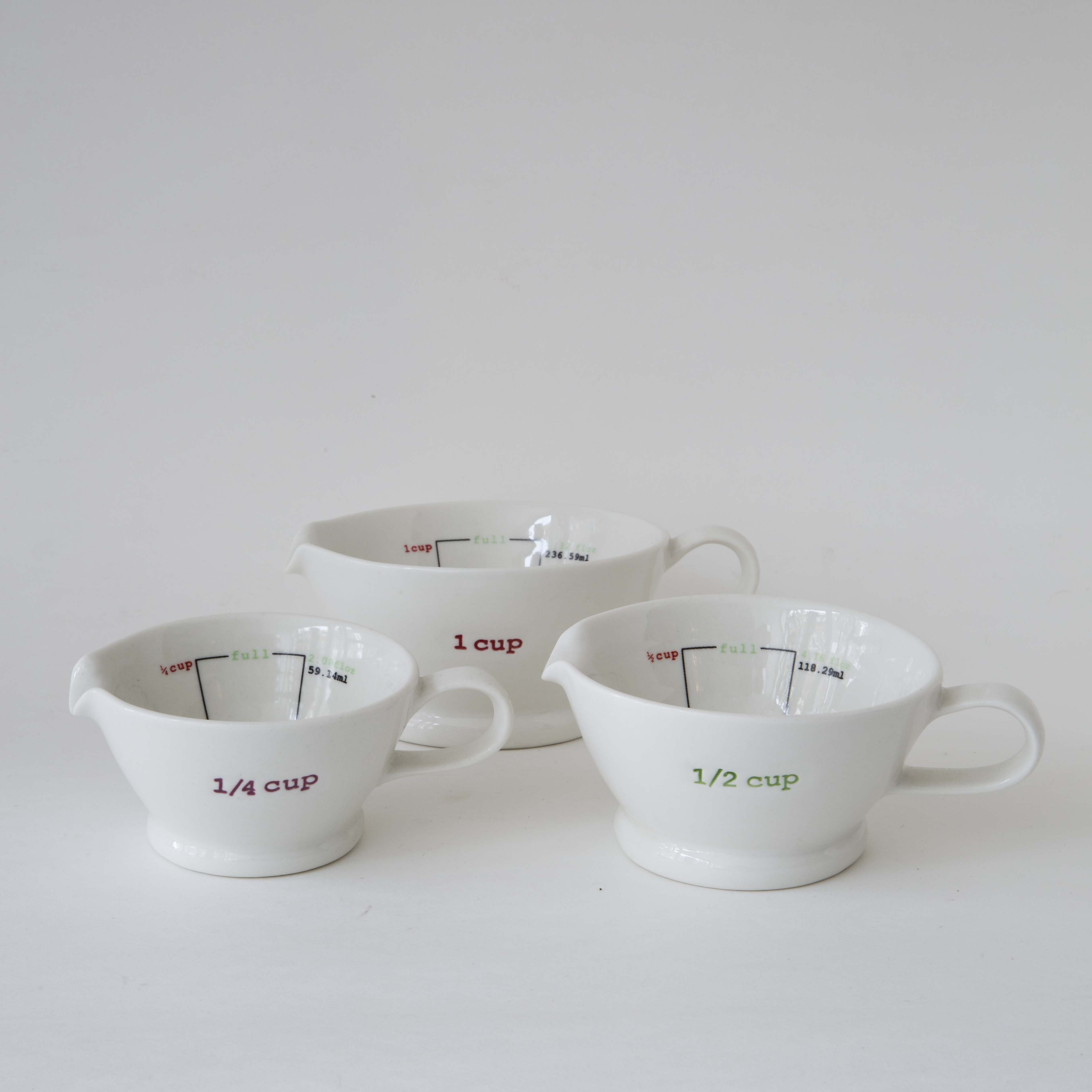 Keith Brymer Jones  Set Of 3 Measuring Cups
