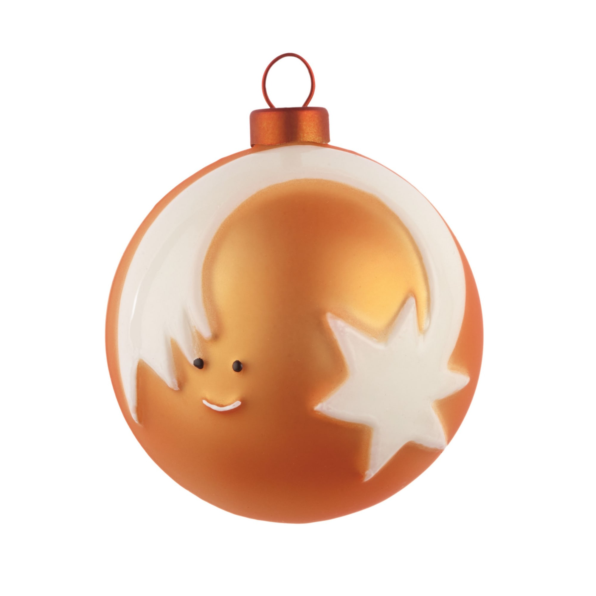 Alessi  Stella Cometa - Star Glass Christmas Bauble