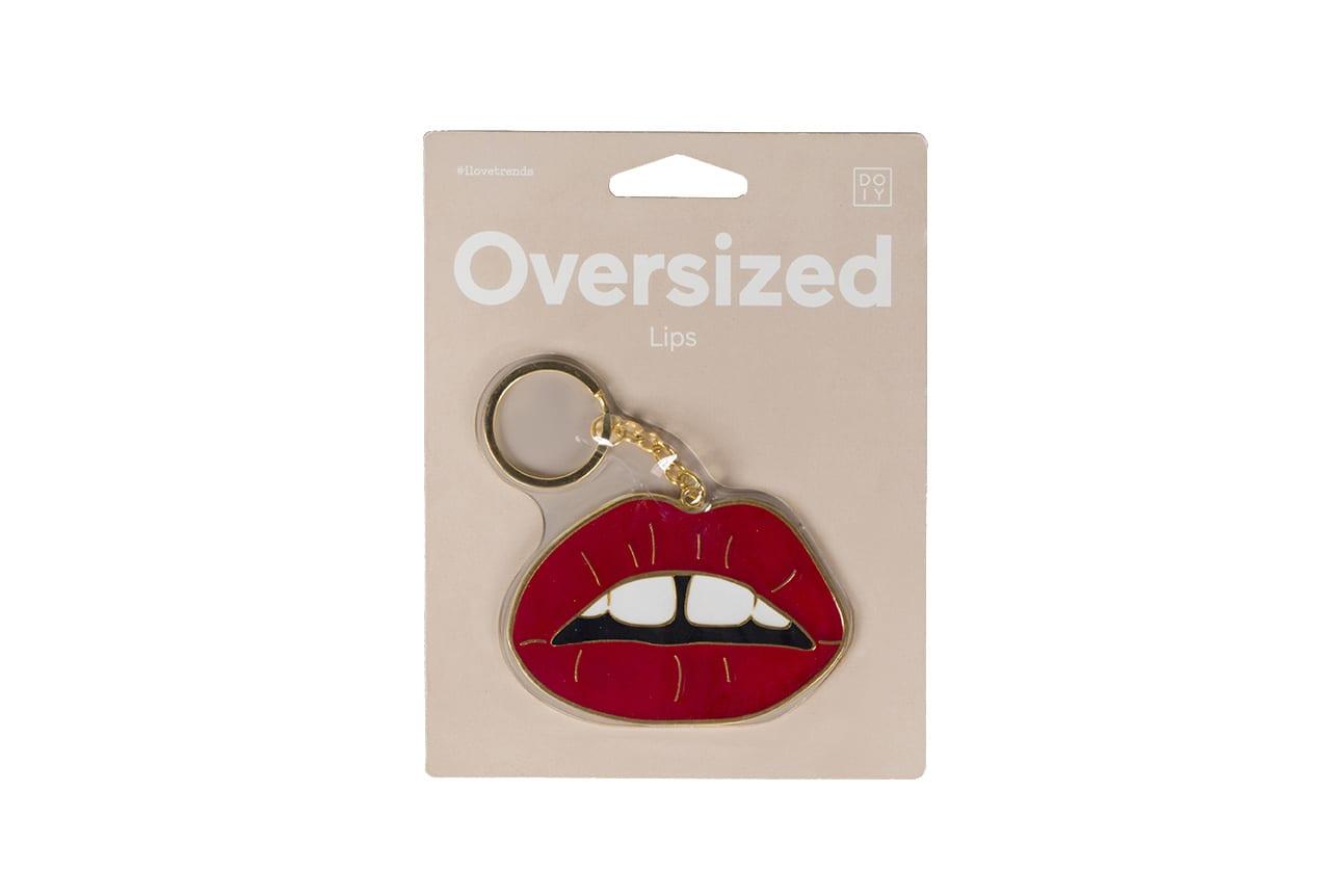 DOIY Design Oversized Lips Keyring