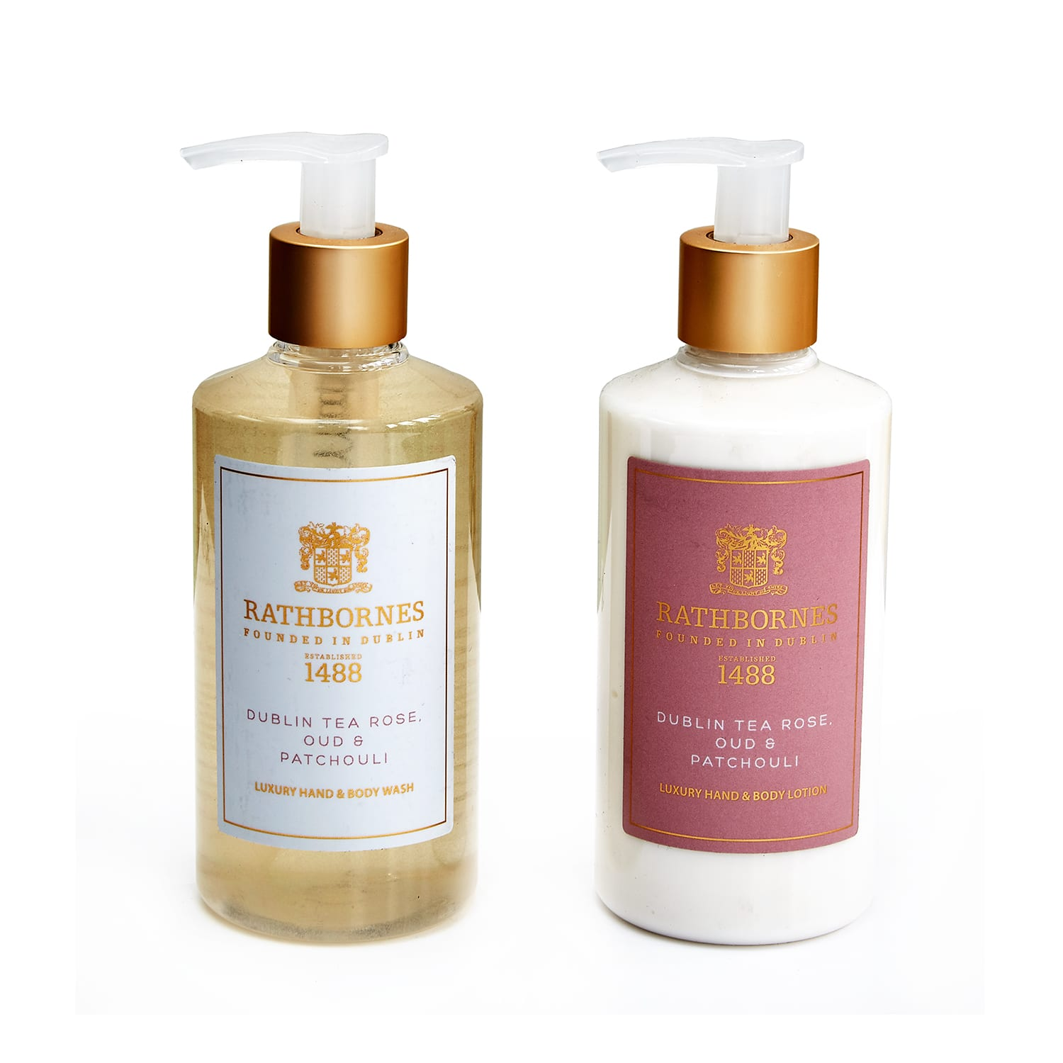 Rathbornes Dublin Tea Rose Hand & Body Lotion