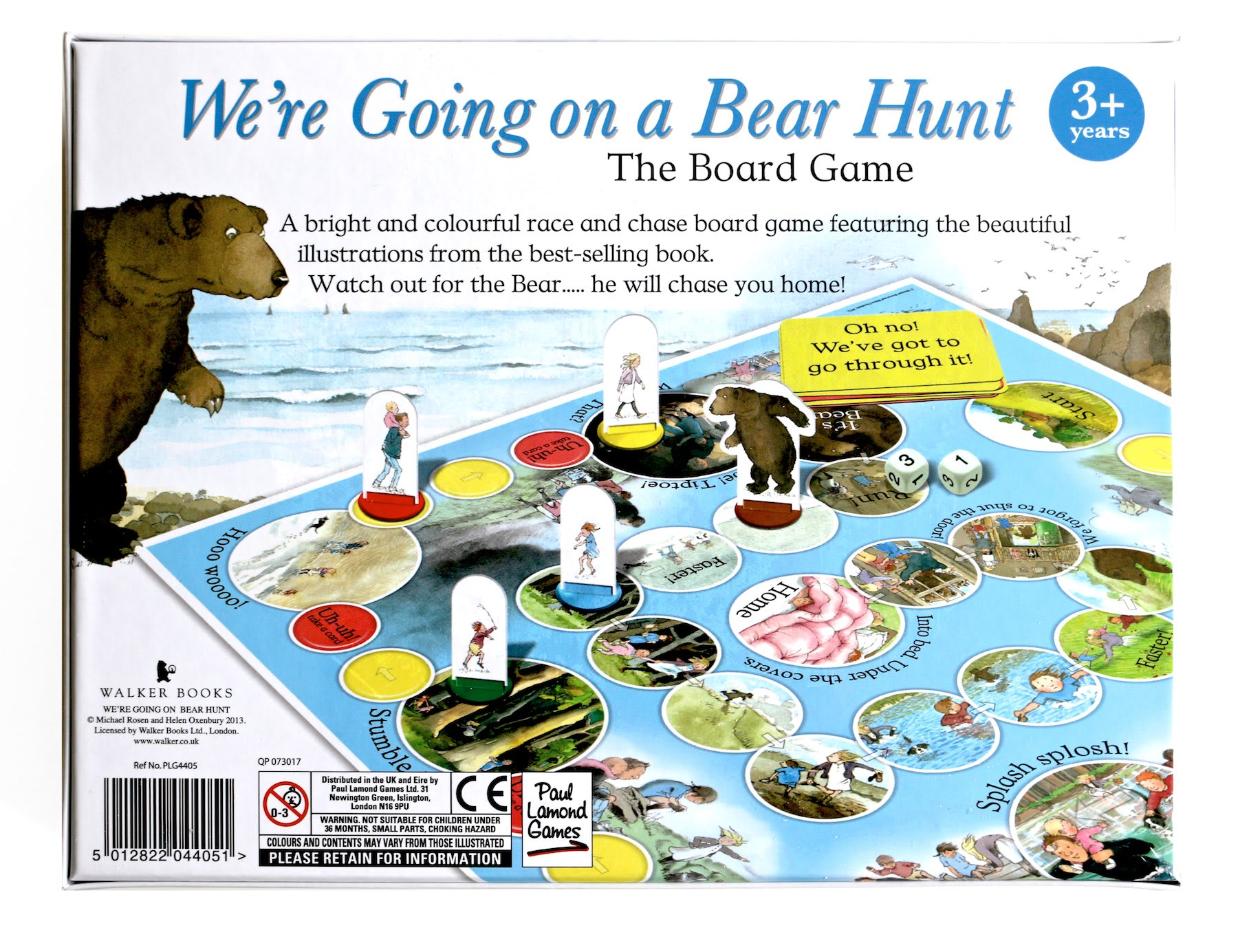 Walker Books We're Going on a Bear Hunt Board Game Age 3+