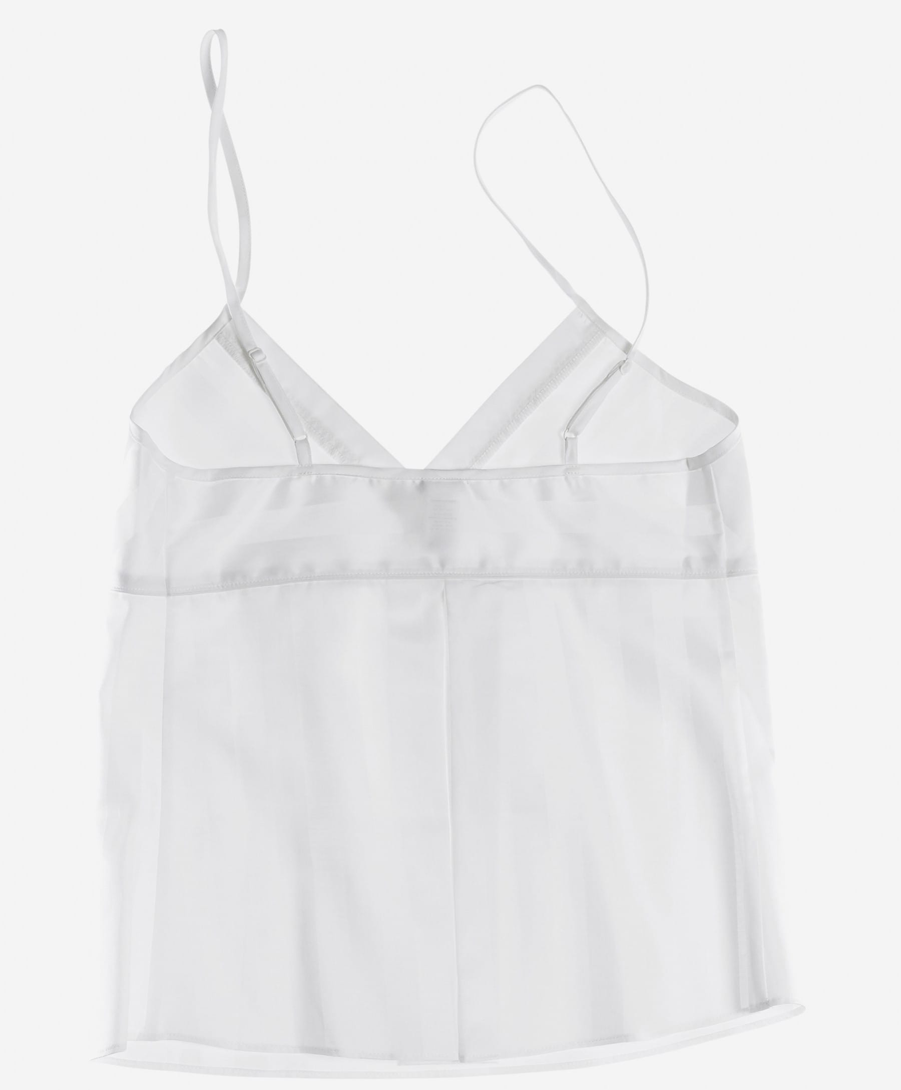 Bodas White Shadow Stripe Camisole