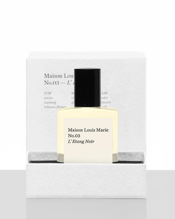 Maison Louis Marie No.03 L'Etang Noir Oil Perfume