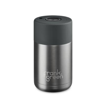 Frank Green Gunmetal Grey 10oz Stainless Steel Smart Cup